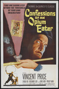 "Movie Posters:Adventure, Confessions of an Opium Eater (Allied Artists, 1962). One Sheet(27"" X 41""). Adventure. Starring Vincent Price, Linda Ho, Ri..."