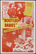 """Movie Posters:Crime, Bootleg Babies (Roadshow, 1950s). One Sheet (27"""" X 41""""). Crime.Originally released as """"Souls in Pawn"""". Light edge wear with..."""
