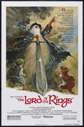 "Movie Posters:Animated, The Lord of the Rings (United Artists, 1978). One Sheet (27"" X 41""). Animation. Starring the voices of Anthony Daniels, John..."