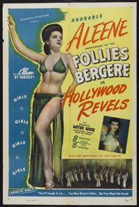 "Hollywood Revels (Roadshow Attractions, 1946). One Sheet (27"" X 41""). Sexploitation. Starring Aleene (""Sw..."