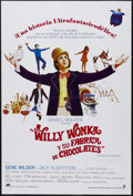 """Movie Posters:Fantasy, Willy Wonka & the Chocolate Factory (Paramount, 1971). Spanish Language One Sheet (27"""" X 41""""). Musical Fantasy. Starring Gen..."""