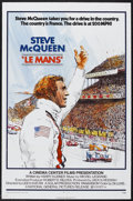 "Movie Posters:Sports, Le Mans (National General, 1971). One Sheet (27"" X 41""). Sports Drama. Starring Steve McQueen, Siegfried Rauch, Elga Anderse..."