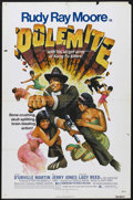 "Movie Posters:Blaxploitation, Dolemite (Dimension Pictures, 1975). One Sheet (27"" X 41"").Blaxploitation. Starring Rudy Ray Moore, D'Urville Martin, Jerry..."