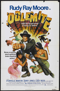 "Dolemite (Dimension Pictures, 1975). One Sheet (27"" X 41""). Blaxploitation. Starring Rudy Ray Moore, D'Urville..."