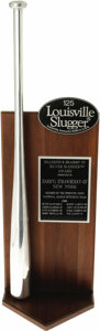 Baseball Collectibles:Others, 1988 Darryl Strawberry Silver Slugger Award. Had not a laundry listof personal problems plagued the career of this supreme...