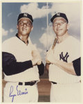 Autographs:Photos, 1980's Roger Maris Signed Photograph. Classic image of the M&M boys around the time of their memorable 1961 season is signe...