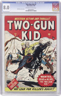 Golden Age (1938-1955):Western, Two-Gun Kid #1 (Marvel, 1948) CGC VF 8.0 Off-white to whitepages....