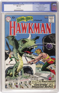 Silver Age (1956-1969):Superhero, The Brave and the Bold #34 Hawkman - Western Penn pedigree (DC, 1961) CGC NM 9.4 Off-white pages....