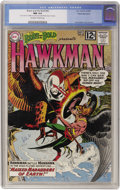 Silver Age (1956-1969):Superhero, The Brave and the Bold #43 Hawkman - White Mountain pedigree (DC,1962) CGC NM 9.4 Off-white to white pages....