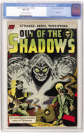 Golden Age (1938-1955):Horror, Out Of The Shadows #5 (#1) (Standard, 1952) CGC VF+ 8.5 Cream tooff-white pages....