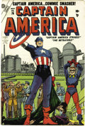 Golden Age (1938-1955):Superhero, Captain America Comics #76 (Atlas, 1954) Condition: VF+....