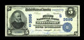 National Bank Notes:Louisiana, Shreveport, LA - $5 1902 Date Back Fr. 592 The First NB Ch. # (S)3595. While this hardly ranks as a rare bank, this vivi...