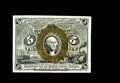 Fractional Currency:Second Issue, Fr. 1234 5¢ Second Issue Superb Gem New. Fr. 1234 is not thought of as a scarce note, and in the real sense, it certainly is...