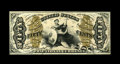 Fractional Currency:Third Issue, Fr. 1347 50c Third Issue Justice Very Choice New. A very attractive Red Back Justice which has bright colors and bold printi...