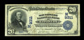 National Bank Notes:Missouri, Kansas City, MO - $20 1902 Date Back Fr. 644 The Southwest NB Ch. #(M)9311. An excessively rare note from a bank which ...