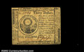 Colonial Notes:Continental Congress Issues, Continental Currency May 10, 1775 $30 Choice About New. ...