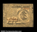 Colonial Notes:Continental Congress Issues, Continental Currency February 17, 1776 $3 Gem New. Bright, ...