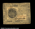 Colonial Notes:Continental Congress Issues, Continental Currency February 17, 1776 $7 Very Choice New. ...