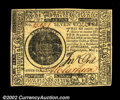 Colonial Notes:Continental Congress Issues, Continental Currency May 9, 1776 $7 Gem New. A beautiful ...