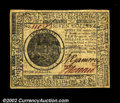 Colonial Notes:Continental Congress Issues, Continental Currency May 9, 1776 $7 Choice About New. A ...