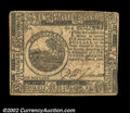 Colonial Notes:Continental Congress Issues, Continental Currency November 2, 1776 $6 Choice Extremely ...