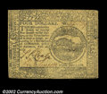 Colonial Notes:Continental Congress Issues, Continental Currency February 26, 1777 $4 Choice Extremely ...