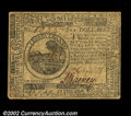 Colonial Notes:Continental Congress Issues, Continental Currency May 20, 1777 $6 Choice Extremely Fine....