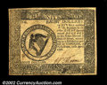 Colonial Notes:Continental Congress Issues, Continental Currency April 11, 1778 $8 Choice New. A ...