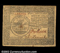 Colonial Notes:Continental Congress Issues, Continental Currency September 26, 1778 $5 Very Fine. A ...