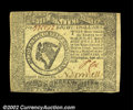 Colonial Notes:Continental Congress Issues, Continental Currency September 26, 1778 $8 Choice Extremely ...