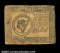 Colonial Notes:Continental Congress Issues, Continental Currency September 26, 1778 $8 Very Fine. Well ...