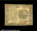Colonial Notes:Continental Congress Issues, Continental Currency September 26, 1778 $20 Choice New. ...