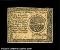 Colonial Notes:Continental Congress Issues, Continental Currency September 26, 1778 $20 About New. ...