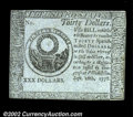 Colonial Notes:Continental Congress Issues, Continental Currency Counterfeit Detector September 26, 1778 ...