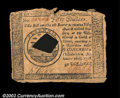 Colonial Notes:Continental Congress Issues, Continental Currency September 26 1778, $50 Counterfeit ...