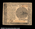 Colonial Notes:Continental Congress Issues, Continental Currency September 26, 1778 $60 Superb Gem New....