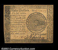 Colonial Notes:Continental Congress Issues, Continental Currency September 26, 1778 $60 About New. ...