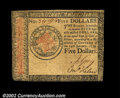 Colonial Notes:Continental Congress Issues, Continental Currency January 14, 1779 $5 About New. There ...