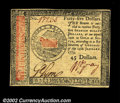 Colonial Notes:Continental Congress Issues, Continental Currency January 14, 1779 $45 Gem New. This is ...