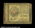 Colonial Notes:Continental Congress Issues, Continental Currency January 14, 1779 $45 Very Fine. The ...