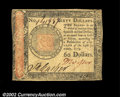 Colonial Notes:Continental Congress Issues, Continental Currency January 14, 1779, $60 Choice Extremely ...