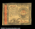 Colonial Notes:Continental Congress Issues, Continental Currency January 14, 1779 $65 Choice About New....