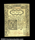Colonial Notes:Connecticut, Connecticut June 19, 1776 6d Choice New. Another very nice ...
