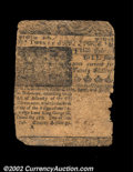 Colonial Notes:Delaware, Delaware February 28, 1746 20s Fine. Repaired along its ...
