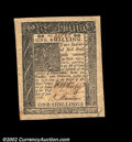 Colonial Notes:Delaware, Delaware January 1, 1776 1s Superb Gem New. A beautifully ...