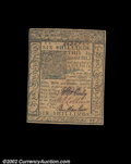Colonial Notes:Delaware, Delaware January 1, 1776 6s Very Choice New. This fully ...