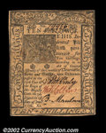 Colonial Notes:Delaware, Delaware January 1, 1776 10s Very Choice New. A Gem in ...