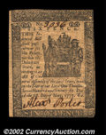 Colonial Notes:Delaware, Delaware May 1, 1777 6d Choice About New. A lovely little ...