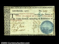 Colonial Notes:Georgia, Georgia 1777 $5 Choice Extremely Fine. This beautiful Blue ...