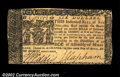 Colonial Notes:Maryland, Maryland April 10, 1774 $6 About New. A good-looking high-...